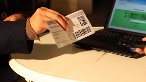 Einlasskontrolle per Barcodescanner und Cortex Tickets Software